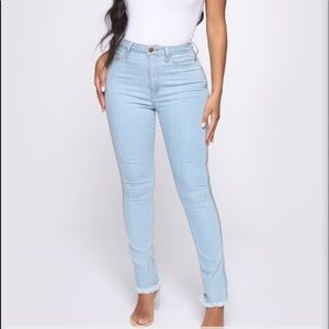 "NWT fashion nova ""most wanted"" high rise jeans"